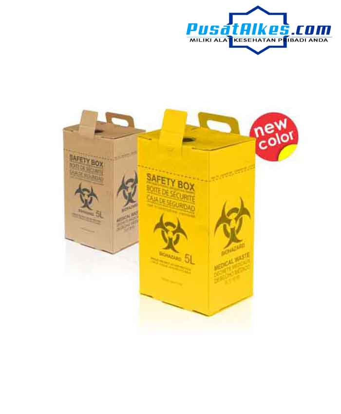 safety box, tempat sampah medis, safety box murah, safety box onemed